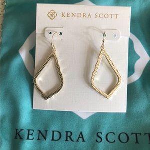 Kendra Scott Sophia drop earrings-gold